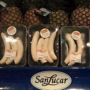 18 Times Product Packaging Contributed To The Great Global Waste Problem Of Our Times - Pre-Peeled Bananas Wrapped In Plastic